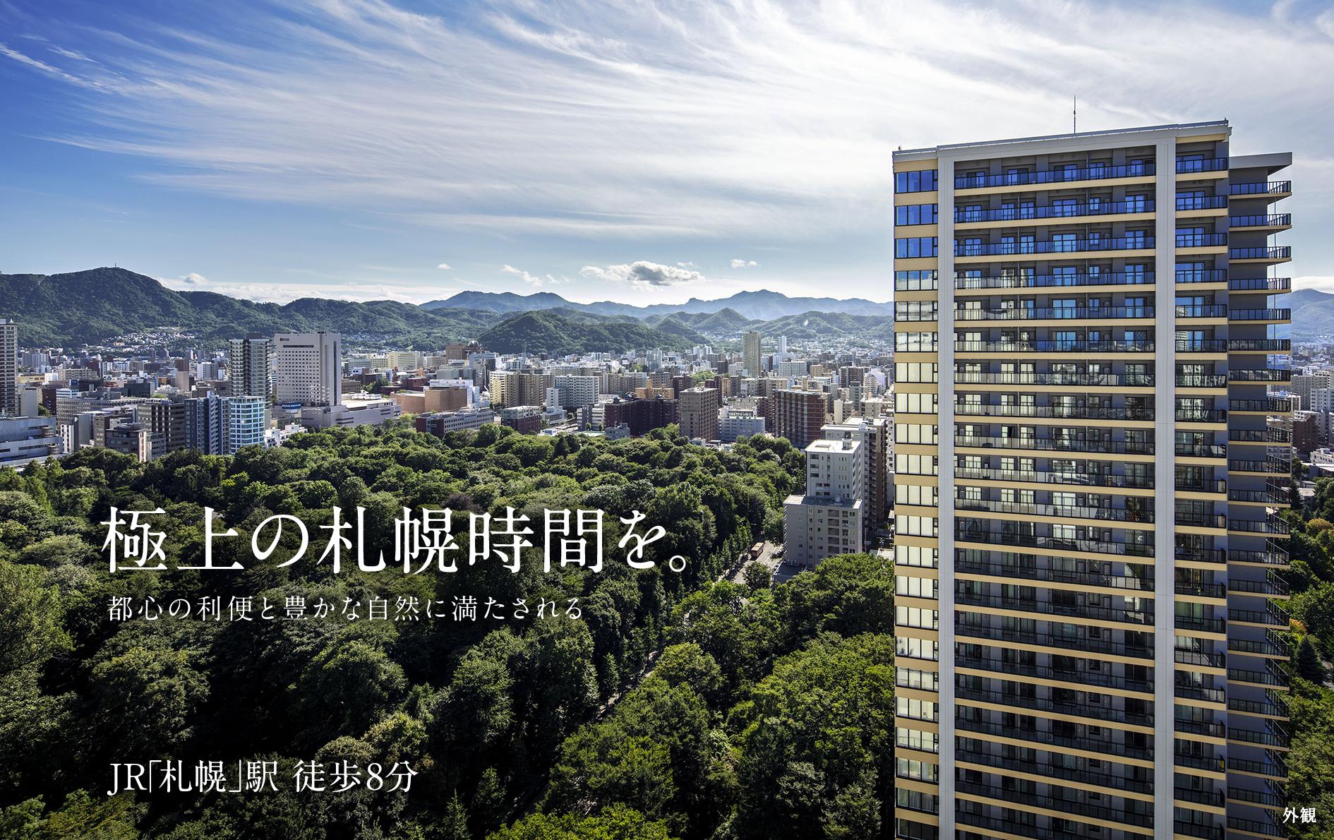 高級 街 札幌 住宅