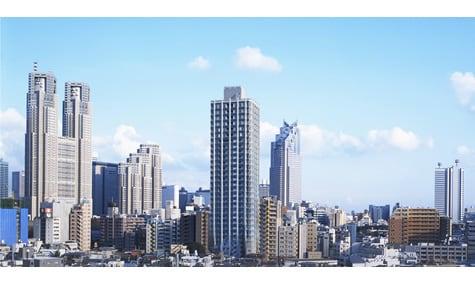 シティタワー新宿新都心の写真 その1